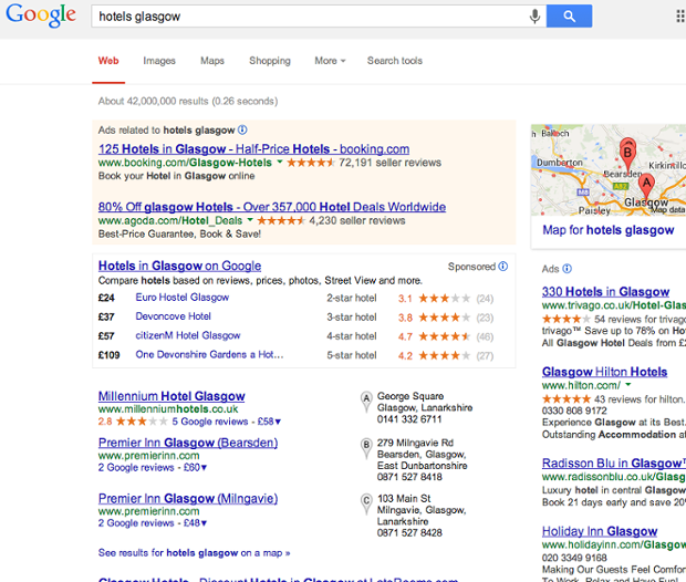 SEO search engine optimization for local search